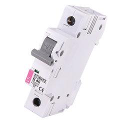 Модульный автоматический выключатель ETIMAT 6 1p B40