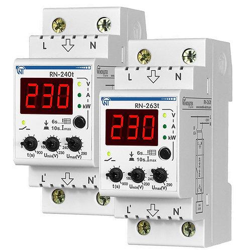 Мультифункциональное реле напряжения РН-240T. Технические характеристики.