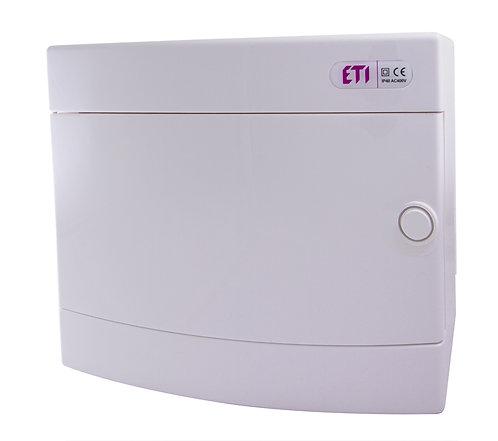 Пластиковый щит наружной установки IP40, ECT12PO