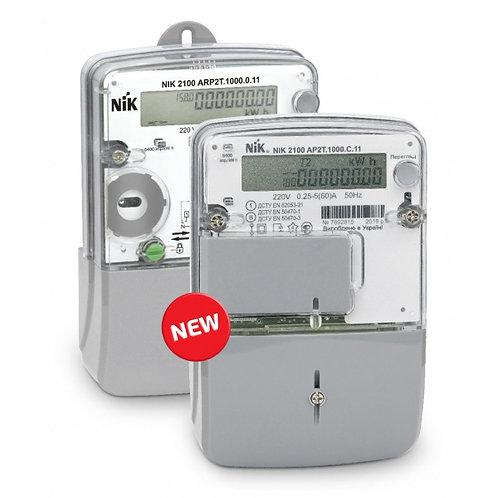 Счетчик однофазный NIK 2100 электронный шунтовой.