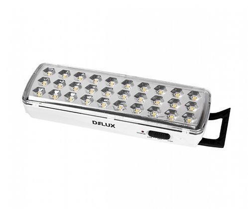 Светильник LED аварийный REL-501LED (3.7V1,2Ah) 30 LED 202x68x40 аккумуляторный