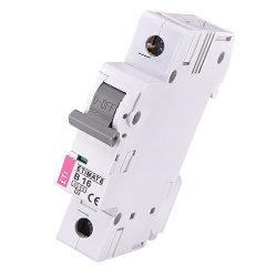 Модульный автоматический выключатель ETIMAT 6 1p B16