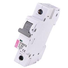 Модульный автоматический выключатель ETIMAT 6 1p C63
