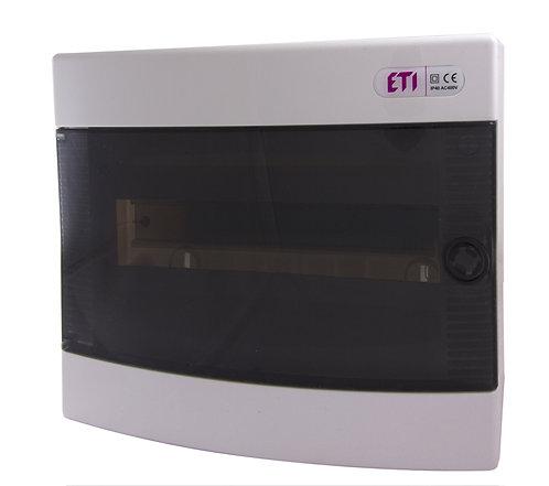 Пластиковый щит наружной установки IP40, ECT12PT