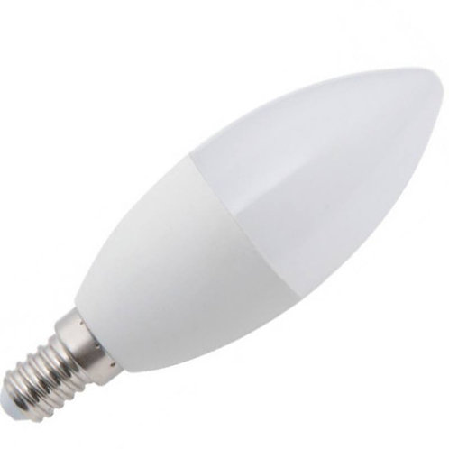 Светодиодная лампа Luxel C37 10W 220V E14(ECO 048-NE 10W)