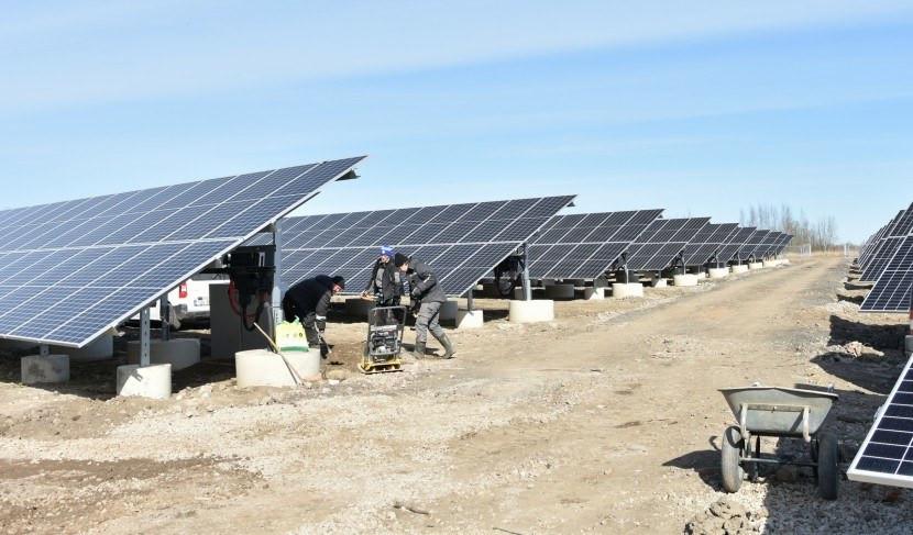 Солнечная электростанция в Нарве