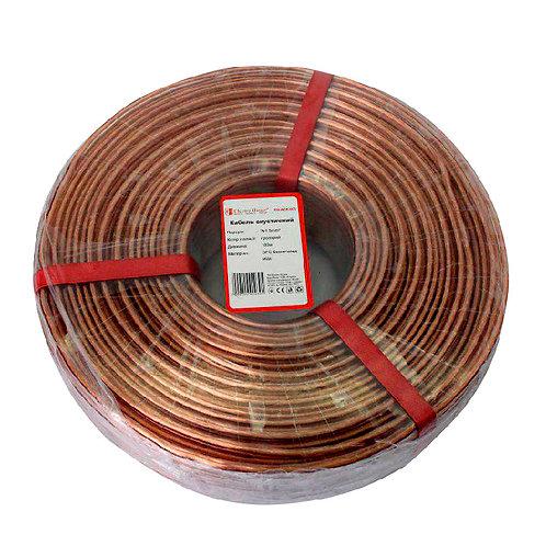 Акустический кабель бескислородная медь 2х15