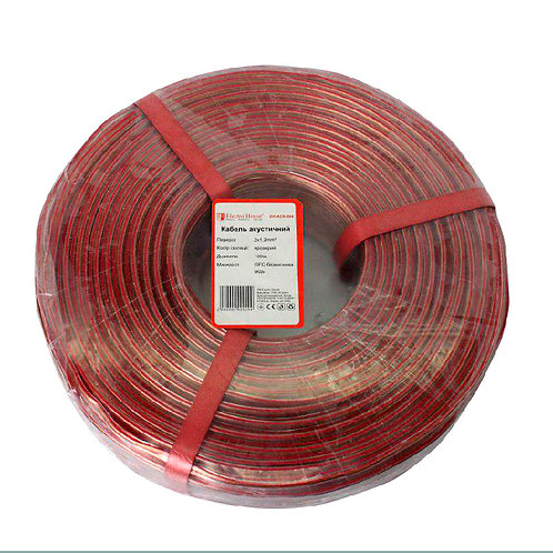 Акустический кабель бескислородная медь 2х12