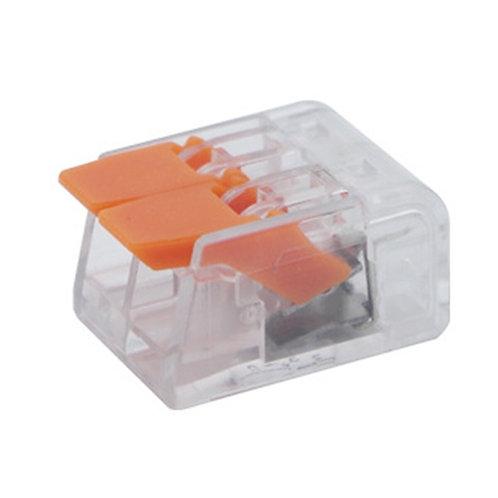 Коннектор на два контакта (450В 32А) самозажимный