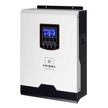 Гибридный ИБП 2000Вт, 24В + ШИМ контроллер 50А, ISPWM 2000, AXIOMA energy