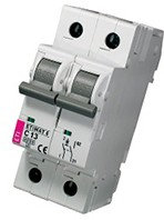 Модульный автоматический выключатель ETIMAT 6 1p+N B13