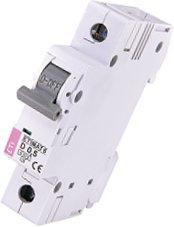Модульный автоматический выключатель ETIMAT 6 1p D 0.5