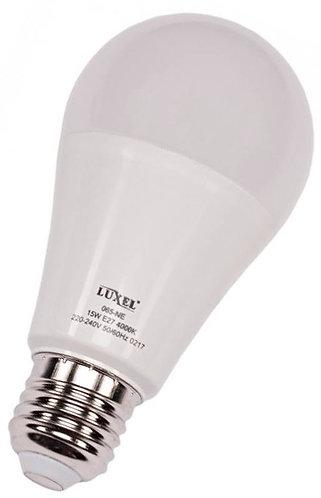 Светодиодная лампа Luxel A60 15W 220V E27 (ECO 065-NE 15W)