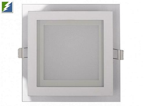 LED-панель Luxel со стеклянным декором 200х200х30мм 220-240V 18W (DLSG-18N 18W)