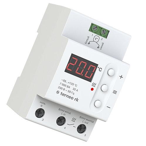 Терморегулятор terneo rk - характеристики, отзывы