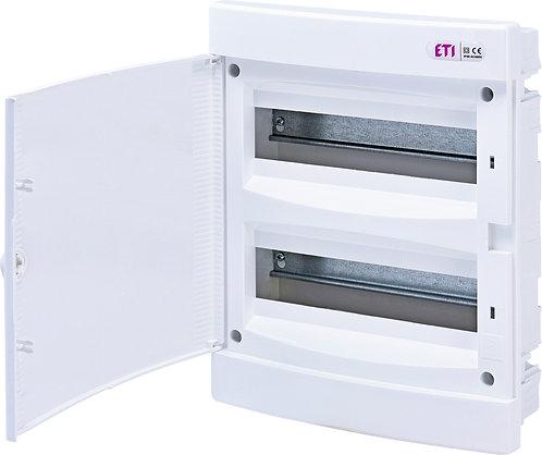 Пластиковый щит внутренней установки IP40, ECM24PO