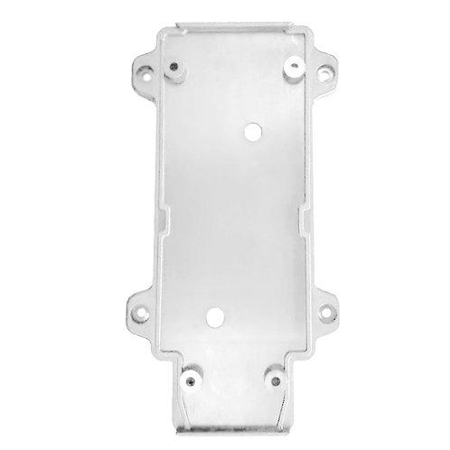 Настенное крепление белое пластик для трекового LED светильника 30W