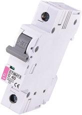 Модульный автоматический выключатель ETIMAT 6 1p D 40