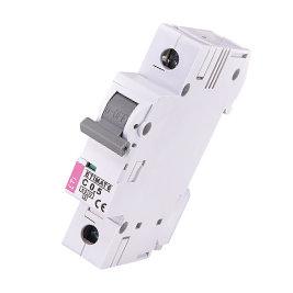 Модульный автоматический выключатель ETIMAT 6 1p C0.5