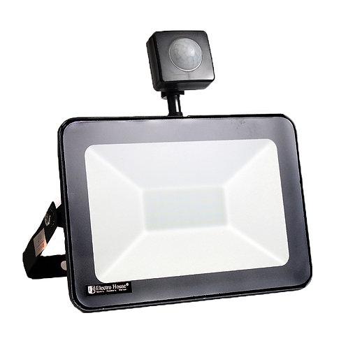 LED прожектор с датчиком движения 30W 6500K 2700Lm IP65