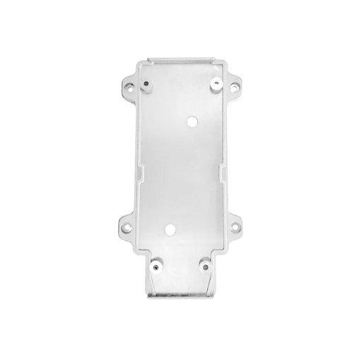 Настенное крепление белое пластик для трекового LED светильника 20W