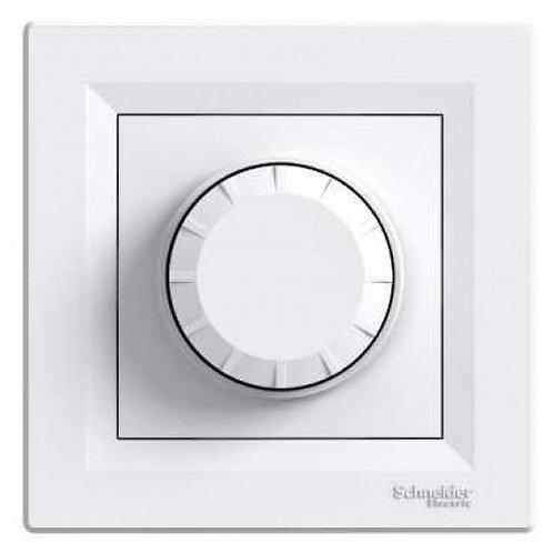 Светорегулятор поворотный 20-315 Вт Schneider Electric Asfora, белый, описание