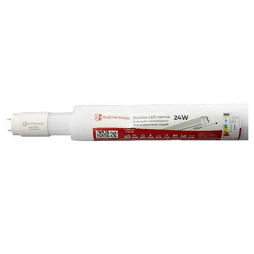 LED лампа линейная T8 24W 6500K 2160Lm 150 см