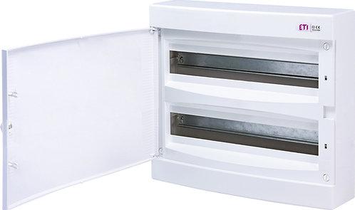 Пластиковый щит наружной установки IP40, ECT 2x18PО