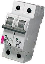 Модульный автоматический выключатель ETIMAT 6 1p+N B 32