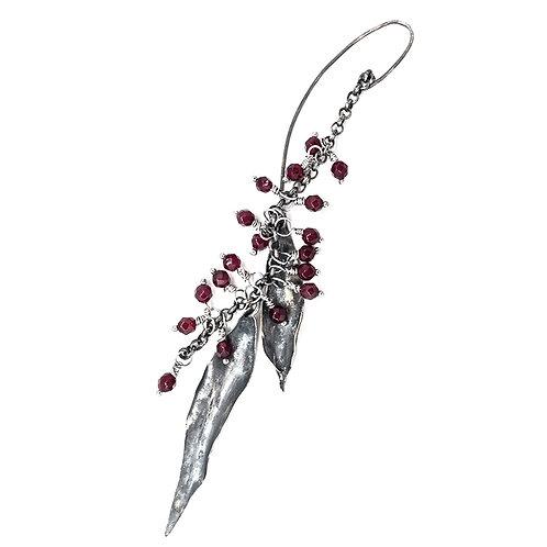 silver earrings ElisEar