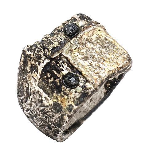silver ring Sbombastik