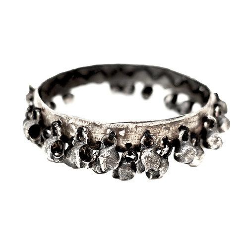 silver bracelet theSkullCarousel