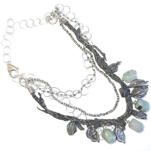 silver necklace Exotica