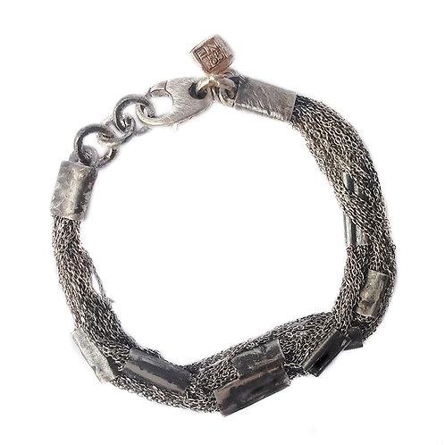 silver bracelet ConPlates