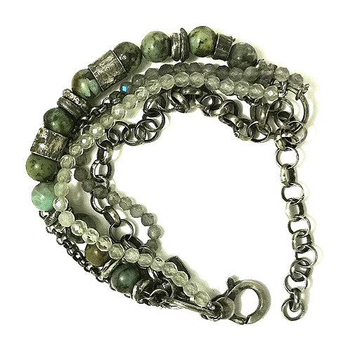 silver bracelet Africa