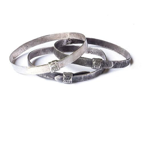 silver bangle Bangles