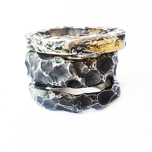 silver ring TriKKi