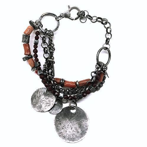 silver bracelet Zingara