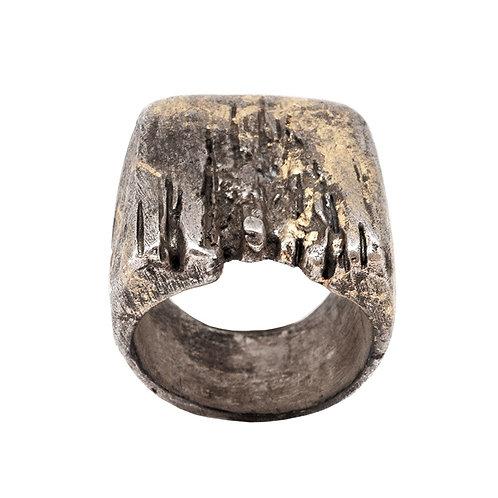 Con-fusione gioielli: anello Goldentears
