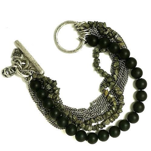 silver bracelet Katene