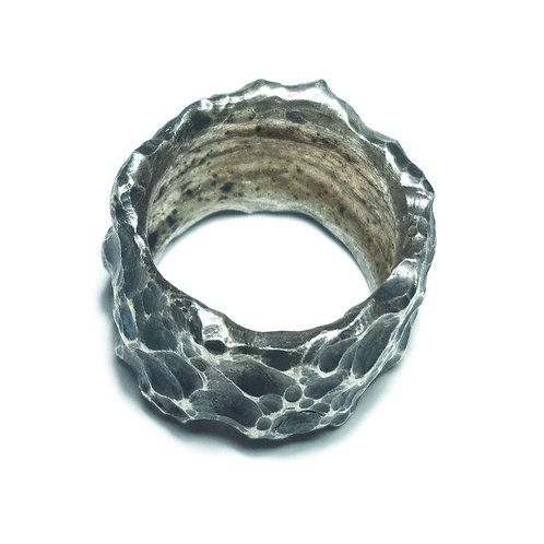 silver ring MoonRing