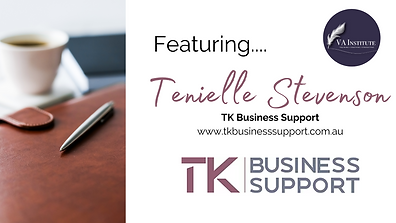 Tenielle Stevenson TK Business Support.p