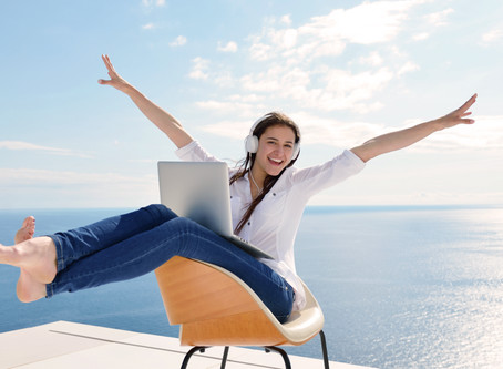 Why being a self-employed Virtual Assistant / Home Based Business Owner Rocks my World!