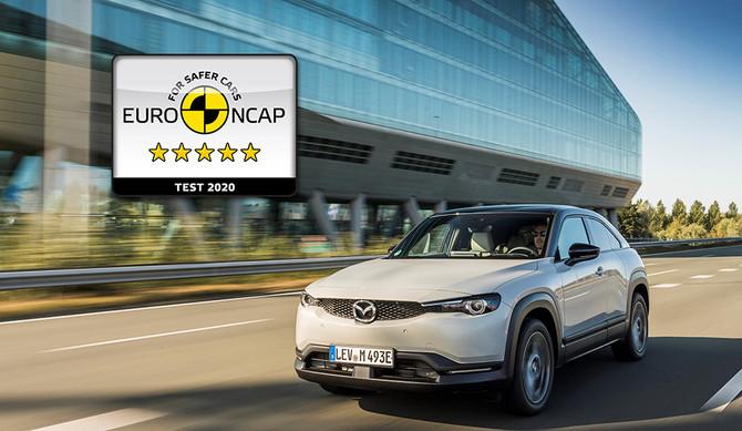 """Segurança: Mazda MX-30 com avaliação """"5 estrelas"""""""