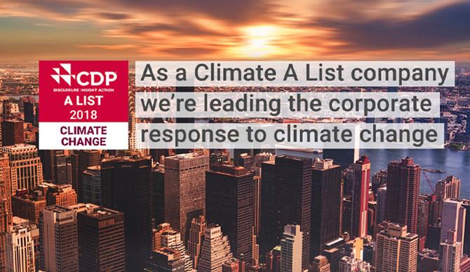 Groupe PSA reconhecido como líder em matéria de alterações climáticas