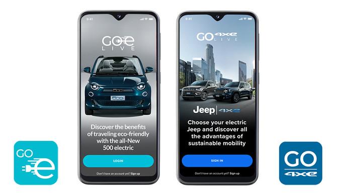 """FCA: apps """"GOe"""" simulam utilização dos veículos elétricos e híbridos"""