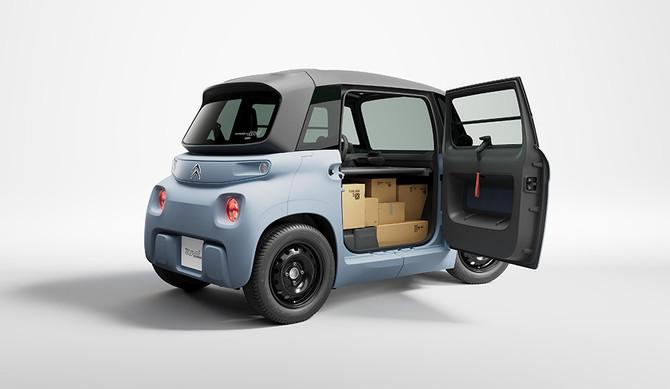 Citroën Ami também em versão comercial