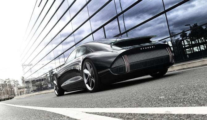 """Hyundai """"Prophecy"""": um veículo elétrico que purifica o ar"""