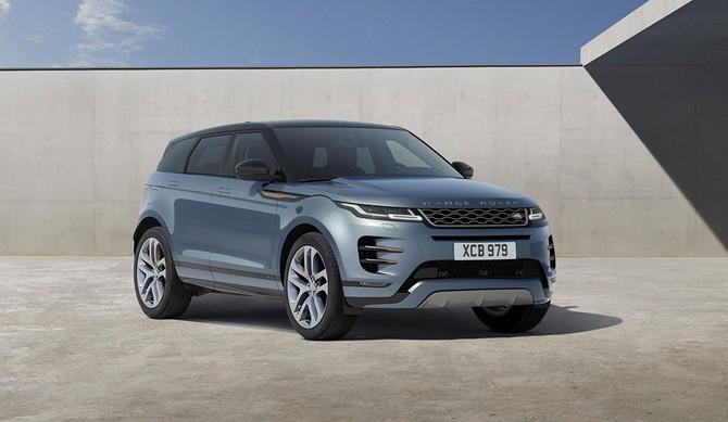 Novo Range Rover Evoque antecipa legislação