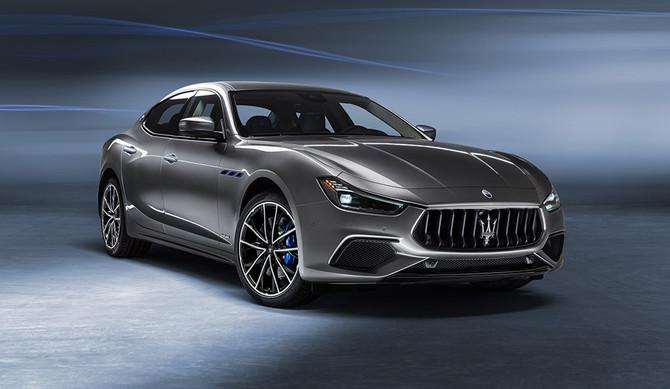 Maserati entra na era da eletrificação